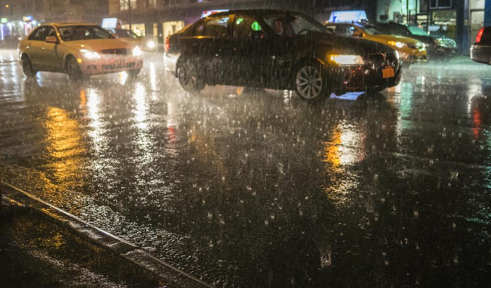 Tarp as Car Protection Against Hail Damage
